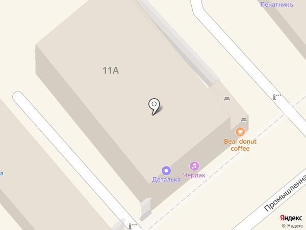 Деталька на карте Анапы