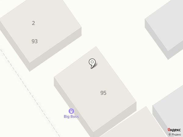 Антел на карте Анапы