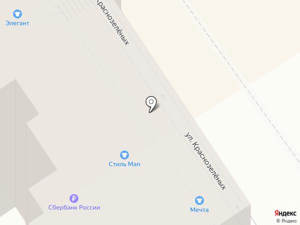 Стиль Man на карте Анапы
