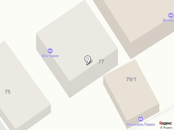 Павел на карте Анапы