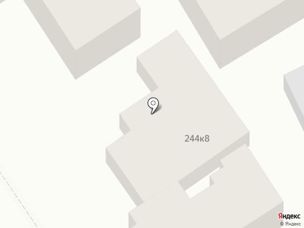 Анапа-Сити на карте Анапы