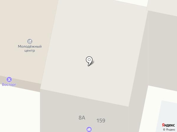 Леди Шарм на карте Анапы