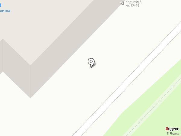 Аван на карте Красногорска