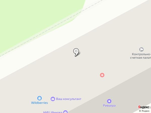 Анапакурортпроект, ЗАО на карте Анапы
