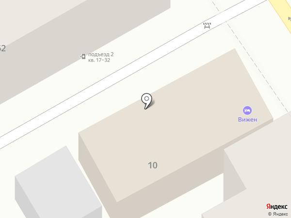 ВиЖен на карте Анапы