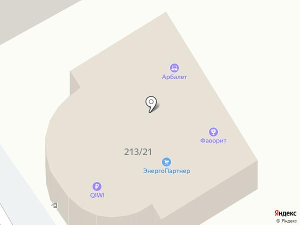 Арбалет на карте Анапы