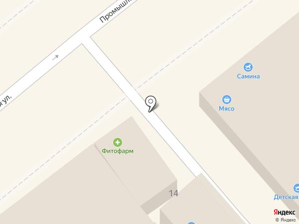 Вольт на карте Анапы