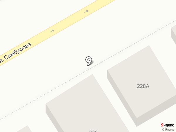 Фабрикант на карте Анапы