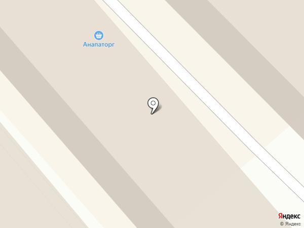 Авоська на карте Анапы