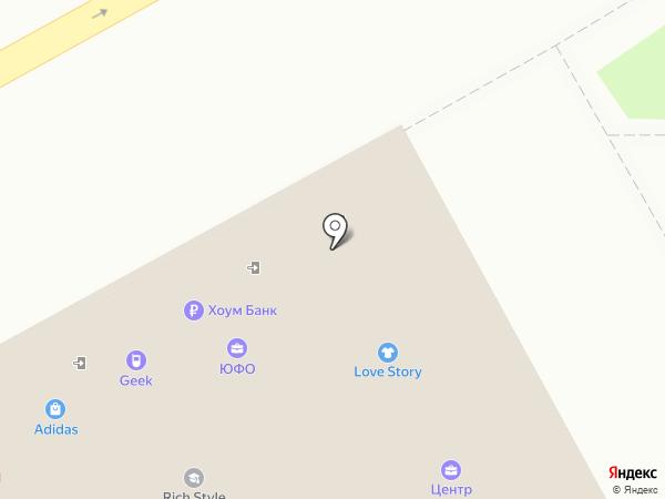 Adidas на карте Анапы