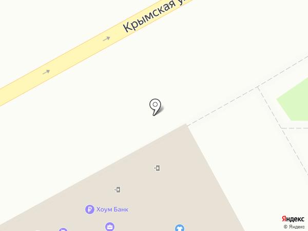 Киви на карте Анапы