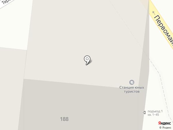 Станция детского и юношеского туризма и экскурсий на карте Анапы