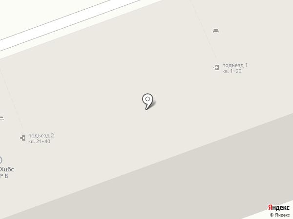 Бахрушинъ на карте Химок