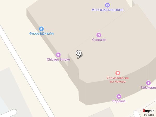 Матрёшка на карте Анапы