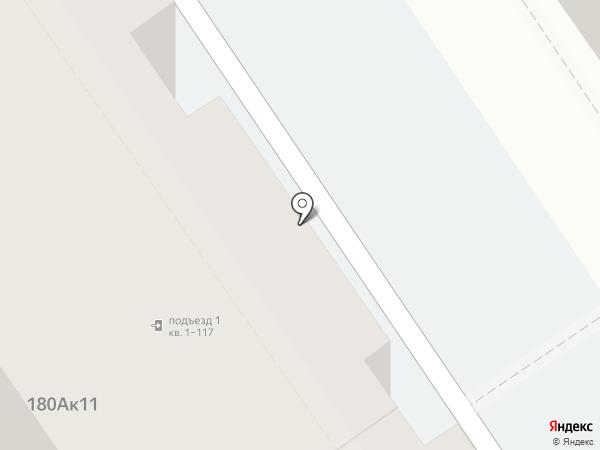 Южный на карте Анапы