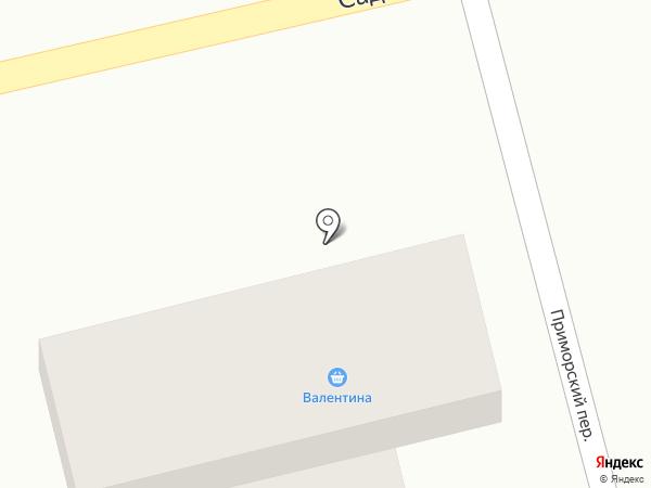 ВОСТОК на карте Анапы