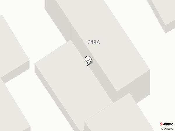 Гостевой дом на ул. Самбурова на карте Анапы