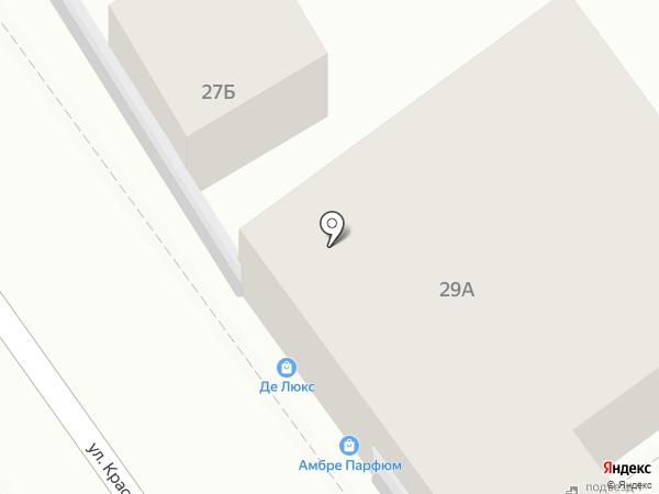 Лилия на карте Анапы