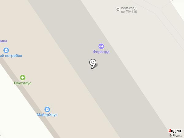 Евгения на карте Анапы