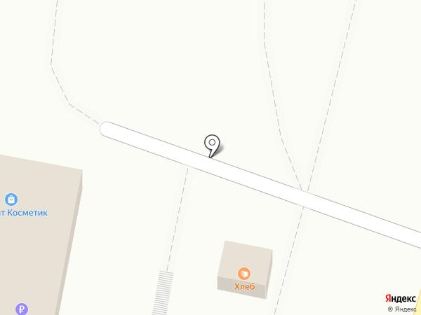 Киоск хлебобулочных изделий на карте Анапы