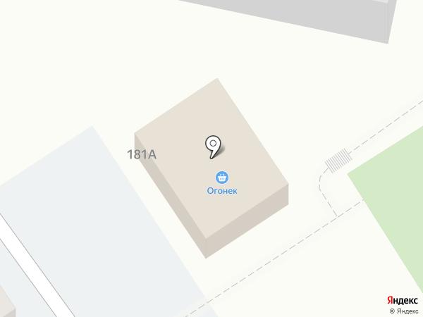 Огонек на карте Анапы