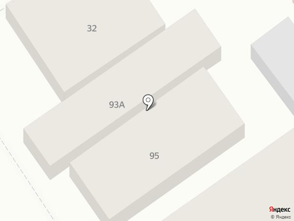 Сушиё на карте Анапы