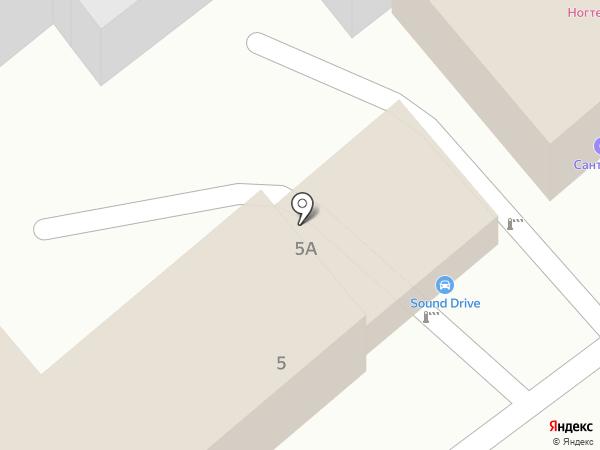 Sound drive на карте Анапы