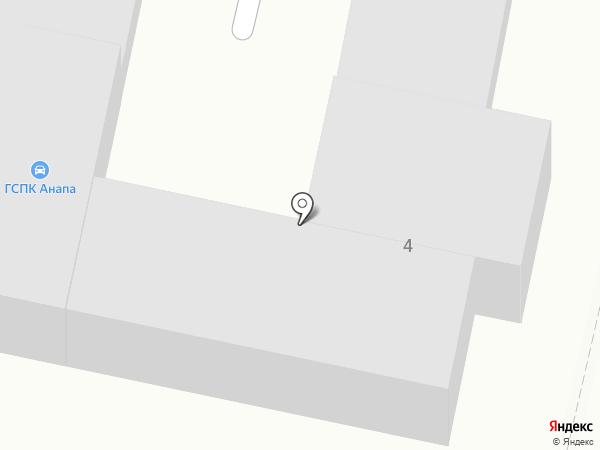 ЛИГА на карте Анапы