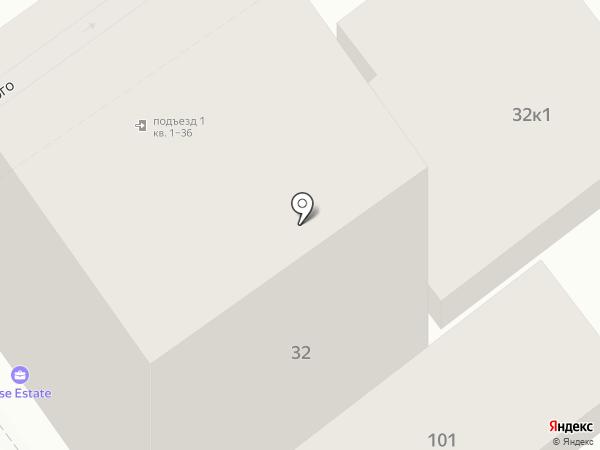 Дома на Юге на карте Анапы
