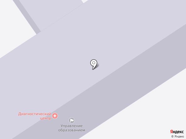 Средняя общеобразовательная школа №4 на карте Анапы
