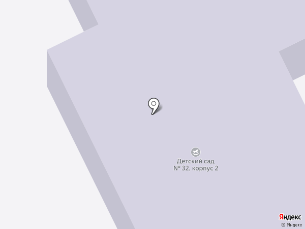Детский сад №33, Лесовичок на карте Красногорска