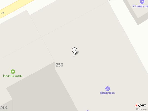 Леди Винтер на карте Анапы