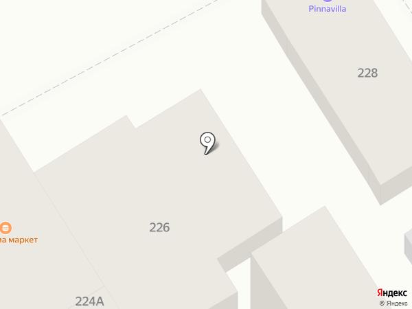 Овощной магазин на карте Анапы