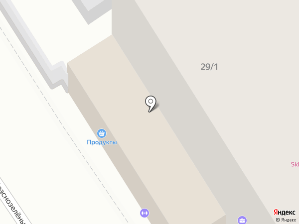 Кладовая быта на карте Анапы
