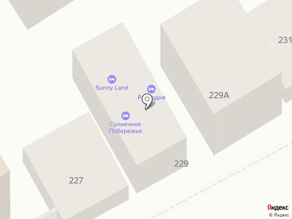 Адаманд на карте Анапы