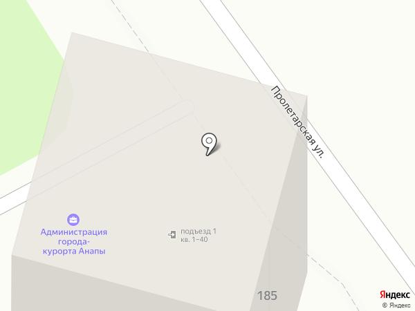 Джоли на карте Анапы