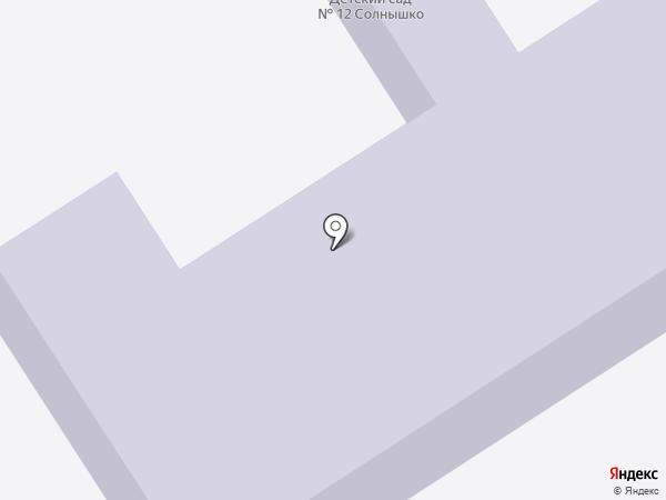 Детский сад №12 на карте Анапы