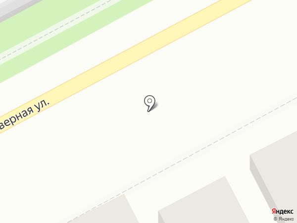Гостевой дом на Северной на карте Анапы