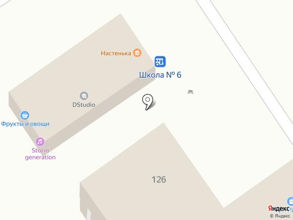 СиД на карте Анапы