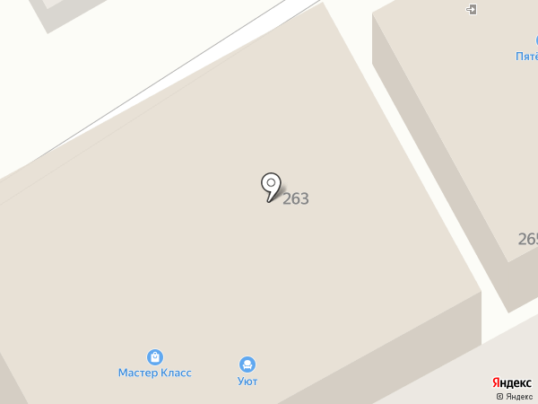 Карандаш на карте Анапы