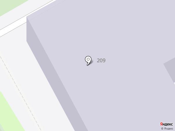 Средняя общеобразовательная школа №5 на карте Анапы