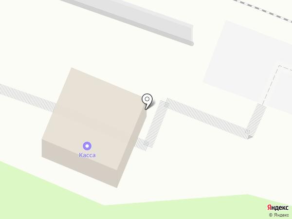 Подрезково на карте Химок