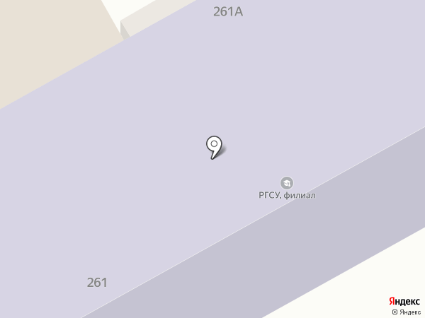 Флер на карте Анапы