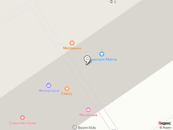 Матрешка на карте Анапы