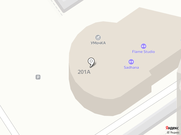 Околица на карте Анапы