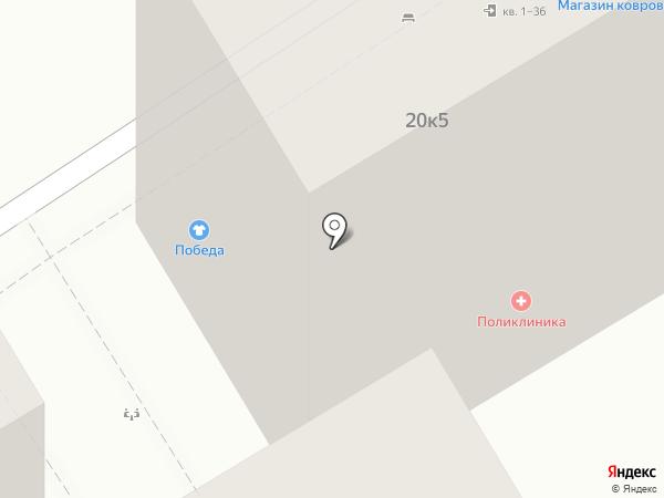 Поликлиника на карте Анапы