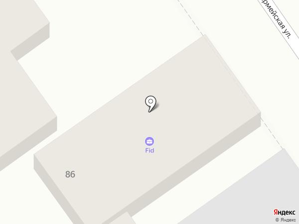Жалюзи на заказ на карте Анапы