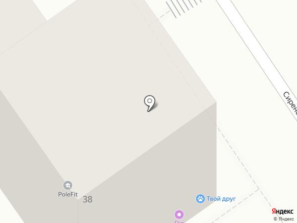 Святая Гавань на карте Анапы