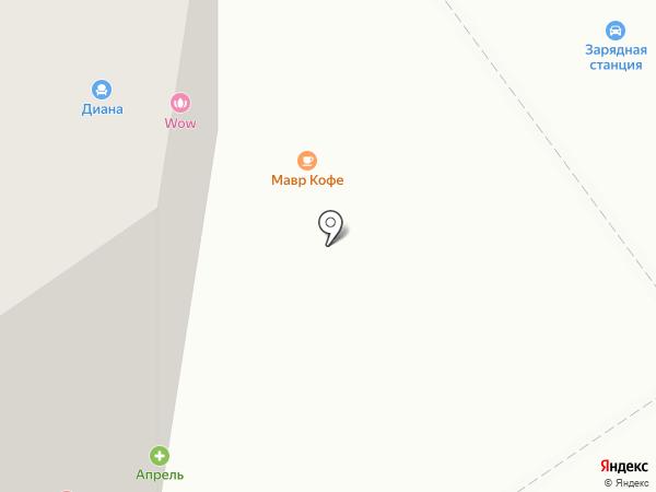 Алкомаркет на карте Анапы