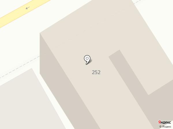 Анапа-Нега на карте Анапы
